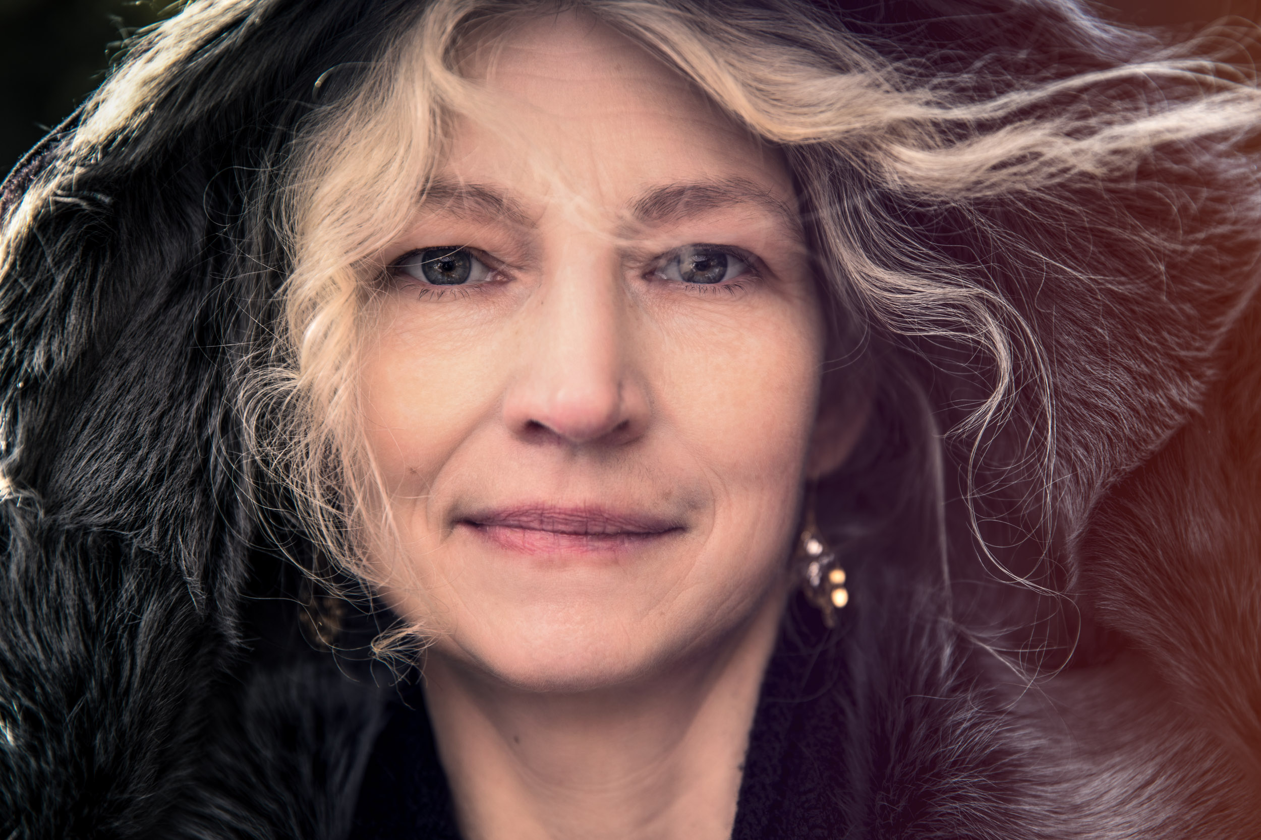 Alaskan Bush People - Woman Close-up Portrait