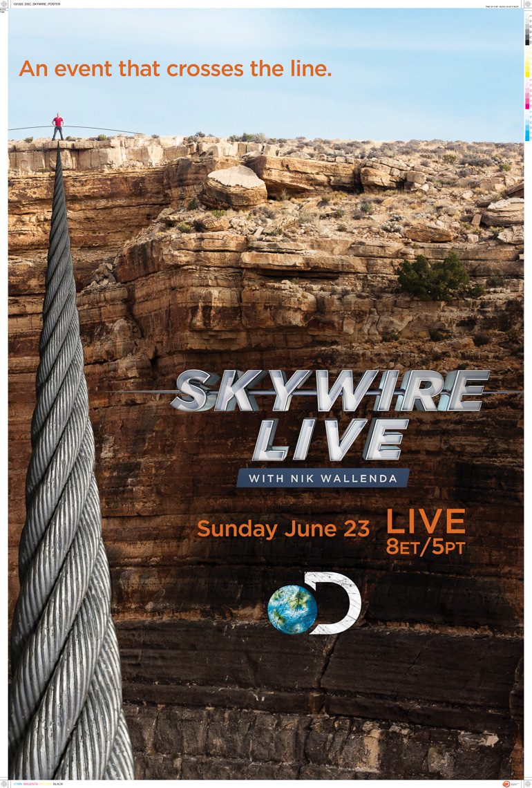 Wallenda Grand Canyon - Discovery Channel